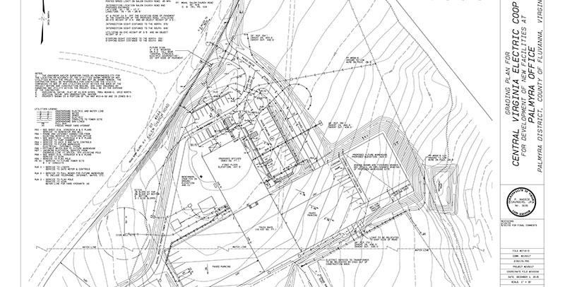 Land planning surveyors in Virginia